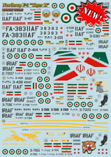 Print Scale 1/72 Northrop F-5A/F-5B/F-5E/F-5F/RF-5A Tiger II Iranian Air Force #