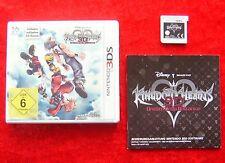 Kingdom Hearts 3D Dream Drop Distance, Nintendo 3DS Spiel, deutsche Version