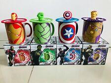 Marvel Avengers Endgame Milk Coffee Mug Cup Captain Ironman Hulk Thanos Limited