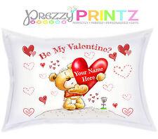 ❤ federa personalizzata Orsacchiotto regalo fidanzato fidanzata san valentino amore ❤