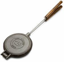 ROMA'S 1028 chuckwagon piastra per waffle, ghisa