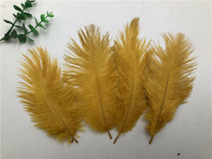 Wholesale, 10-1000pcs 6-8 inches/15-20 cm high quality natural ostrich feathers