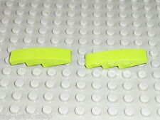2 Slope bricks LEGO UNDERGROUND ref 61678 lime / Sets 8961 & 20200