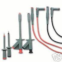 Extech TL810 — 6 Pc. Electrical Test Lead Kit - CAT III-1000V