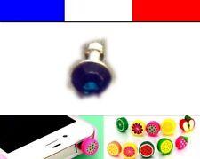 Cache anti-poussière jack universel iphone protection capuchon bouchon Diamant 8