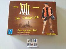 XIII Le complot 2eme edition (jeu société BD VAN HAMME) 2001 Francais board game