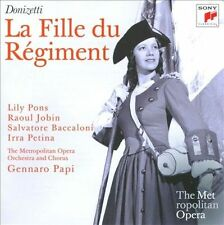 Donizetti: La Fille du Regiment (Metropolitan Opera) New 2-CD Set (2011, Sony)