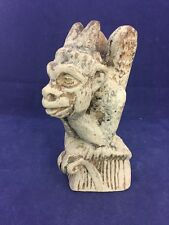 NOTRE DAME Cathedral SPITTING GARGOYLE Replica Paperweight Bookend, Paris France