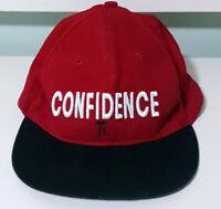 KFC Youth Foundation Confidence Red & Black Snapback Hat!