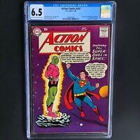 ACTION COMICS #242 (DC 1958) 💥 CGC 6.5 💥 ONLY 17 HIGHER! 1ST APP of BRAINIAC