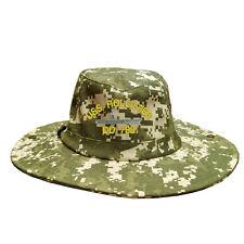 100% Cotton Military Digital Boonie Bush Hiking Outdoor Hat USS HOLLISTER DD 788