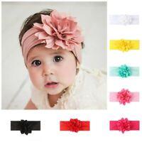 Cute Kids Girl Baby Headband Infant Newborn Flower Bow Hair Band Accessories