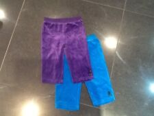 Juicy Couture New & Genuine Baby Girls Velour Pants X 2 Age 6/12 MTHS With Logo