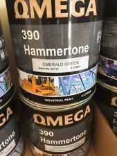 PAINT EMERALD GREEN - Hammertone Finish 4 Litre! Perfect for Trailers!
