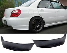 For 02-07 SUBARU IMPREZA WRX URETHANE REAR BUMPER LIP SPOILER SPLITTER 2PCS