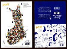 Finnland 2017 - Gesichter Collage - The Face of Finland - ausverkauft sold out