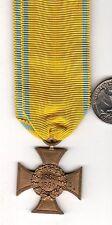 Original pre WWI German Saxon 1863-1864 Cross Holstein War with Denmark Medal