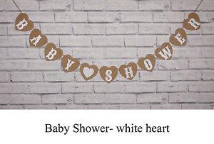 BABY SHOWER PARTY BUNTING NURSERY PREGNANCY  PHOTO GARLAND