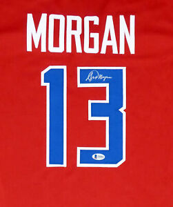 TEAM USA ALEX MORGAN AUTHENTIC AUTOGRAPHED SIGNED RED JERSEY BECKETT 154485