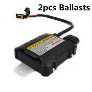 2Pcs 12V 55W HID Xenon DC Ballast Ultra Slim Car Digital Light Replacement Kit