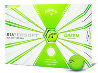 Callaway Supersoft Golf Balls - 1 Dozen Green -  Mens