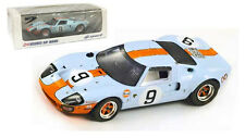 Spark 43LM68 Ford GT40 #9 Le Mans Winner 1968 - Rodriguez/Bianchi 1/43 Scale