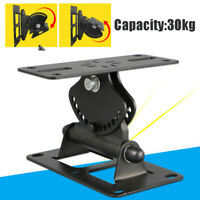 Heavy Duty Speaker Wall Ceiling Mount Brackets Surround Sound Black Max25kg Iron