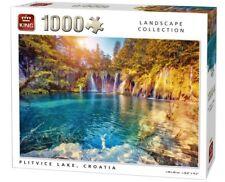 1000 Piece Landscape Collection Jigsaw Puzzle - PLITVICE LAKE, CROATIA 05651