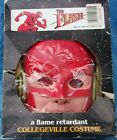 1990 DC Comics The Flash Collegeville Costume With Mask & Box Halloween Vintage