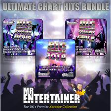 Mr Entertainer Big Karaoke Hits Ultimate Chart Hits Bundle CDG Disc Packs