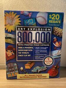 Art Explosion 800,000 Clip Art World's Finest Clip New/Open Box