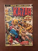 Ka-Zar #3 (1974) 6.5 FN Marvel Bronze Age Comic Book Lots Of The Hidden Jungle