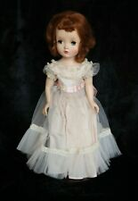 "New ListingVintage Madame Alexander Binnie Walker 14"" Pink Tulle Dress Cissy Face Red Hair"