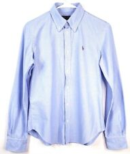 RALF LAUREN SUPER SLM FIT small POLO HORSE EMBROIDERED on shirt.
