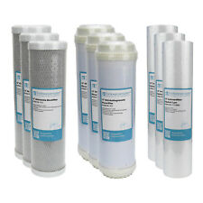 "1,5 Years Filter Set 10 "" 9-teilig Replacement Reverse Osmosis Rock Sediment"