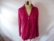 Women's GUESS Pink Button-down Blouse - Sz XL
