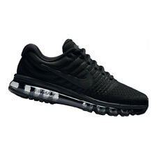"NIKE AIR MAX 2017 ""Black Edition"" Herren Sneaker/Running-Schuhe Schwarz"