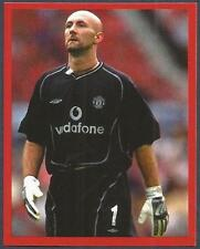 FUTERA-MANCHESTER UNITED-EUROPE-2001- #030-FABIEN BARTHEZ-NUMBER 1 ON HIS SHIRTS