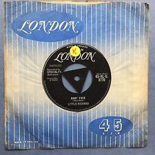 Little Richard - Baby Face / I'll Never Let You Go - London HLU-8770 VG+