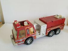 "Vintage Nylint ""Rescue Pumper"" Fire Truck Pressed Steel Metal Engine Co. 5."