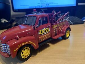 1/24 Danbury Mint 1953 Chevy Wrecker Red D2002