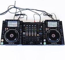 DJ-Set: 2x Pioneer CDJ 2000 NXS2 Nexus + 1x Pioneer DJM 750 MK2 + Kabel