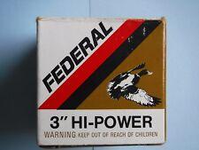 "Empty ""Federal High-Power "" .410 Gauge Shotgun Shell Box"