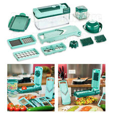 Vegetable Fruit Dicer Slicer Food Fusion Cutter Nicer Peeler Gratter 13 PC Set