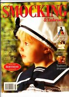 Australian Smocking & Embroidery - Issue No 33 - 1995 - Extremely Rare