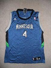 Minnesota Timberwolves NBA Basketball Jersey Randy Foye #4 Youth L Villanova PG