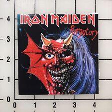 """Iron Maiden Purgatory 4"""" Wide Vinyl Decal Sticker BOGO"""