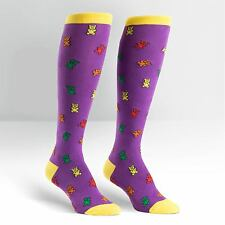 Sock It To Me Femmes Funky Genou Chaussettes-gommeuses ours