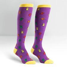 Sock It To Me Women's Funky Knee High Socks - Gummy Bears