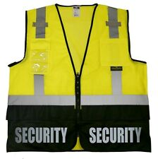 Security survivor vest, Reflective design, High Visibility vest.